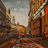 Calle Alcalá, Madrid (73x60cms / Óleo sobre lienzo / Precio aprox 1845 Euros)