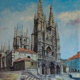 Catedral de Burgos (110x90cms / Óleo sobre lienzo / Precio aprox 2100 Euros)