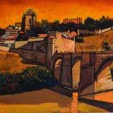 Toledo (73x60cms / Óleo sobre lienzo / Precio aprox 740 Euros)