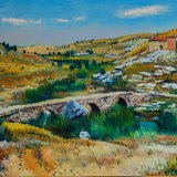 Hontoria del Pinar (61x50cms / Óleo sobre lienzo / Precio aprox 495 Euros)