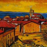Rubena, Burgos (61x50cms / Óleo sobre lienzo / Precio aprox 625 Euros)