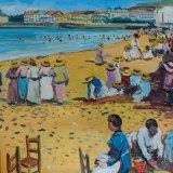 Escenas de playa 6 (35x27cms / Óleo sobre tabla / Precio aprox 495 Euros)