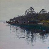 Marina gallega (55x46cms / Óleo sobre lienzo / Precio aprox 495 Euros)