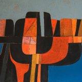 Composición 1   (81x50cms / Óleo sobre lienzo / Precio aprox 1950 Euros)