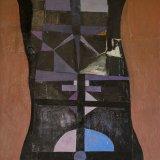 Composición 12 (100x70cms / Óleo sobre lienzo / Precio aprox 3100 Euros)