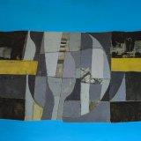 Composición 14 (100x70cms / Óleo sobre lienzo / Preci aprox 3100 Euros)
