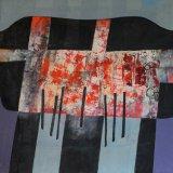 Composición 15 (100x73cms / Óleo sobre lienzo / Precio aprox 3700 Euros)