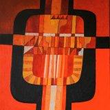 Composición 16 (92x73cms / Óleo sobre lienzo / Precio aprox 3700 Euros)