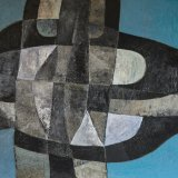 Composición 18 (92x60cms / Óleo sobre lienzo / Precio aprox 3700 Euros)