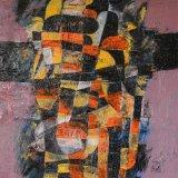 Composición 19 (81x65cms / Óleo sobre lienzo / Precio aprox 3700 Euros)