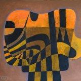 Composición 4 (73x60cms / Óleo sobre lienzo / Precio aprox 2250 Euros)