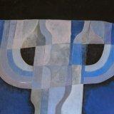 Composición 8 (73x60cms / Óleo sobre lienzo / Precio aprox 2250 Euros)