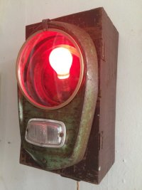 'FORD POPULAR LAMP' BY LUCIE SMAILES