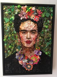 'FRIDA' by Jane Perkins (SOLD)
