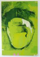 GREEN SCREENED SCREAM - JAMES BAKER (SOLD)