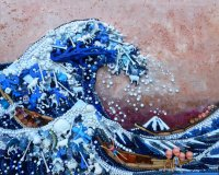 'The Great Wave after Hokusai' by Jane Perkins (SOLD)