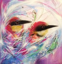'INTERNAL CONFLICT' BY L7m (SOLD)