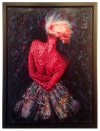 "'STRAWBERRY GROUPIE"" (SOLD)"