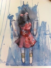 'BOMBER GIRL'