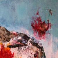 'RED CHOPPER' BY IAN FRANCIS (PRINT)