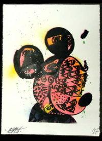'MICKEY (Glitter)' BY BAST