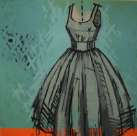 'DRESS XO' BY TRACY HAMER (Reserved)