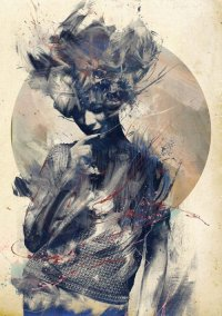 'EURYDICE' BY RUSS MILLS (PRINT)