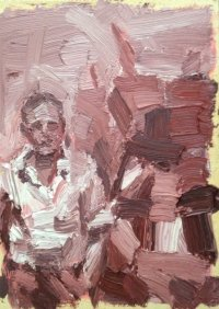 'Philip Guston' by Enzo Marra (SOLD)