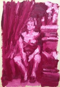'Leonor Fini' by Enzo Marra (SOLD)