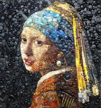'The Girl With a Pearl Earring' (SOLD)
