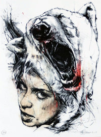 'NATA5' TRIPTYCH BY RUSS MILLS (PRINTS)