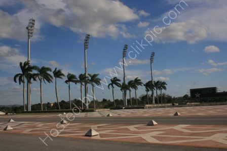 Plaza in Santa Clara, Cuba