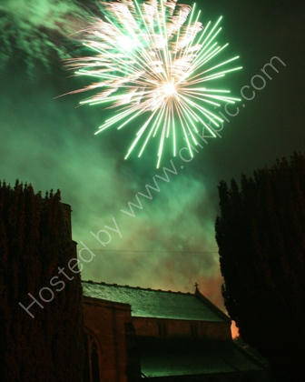 Fireworks over Heytesbury
