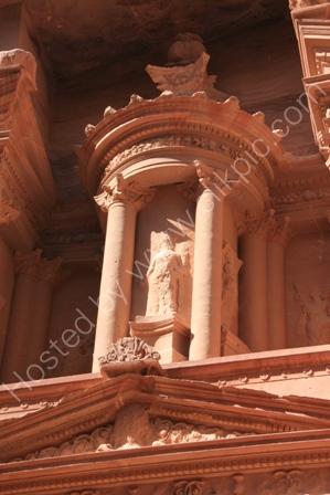 Detail of the Treasury, Petra