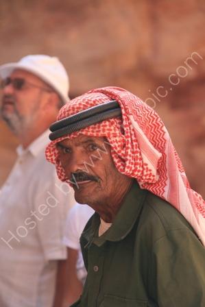 Bedouin Arab in Jordan