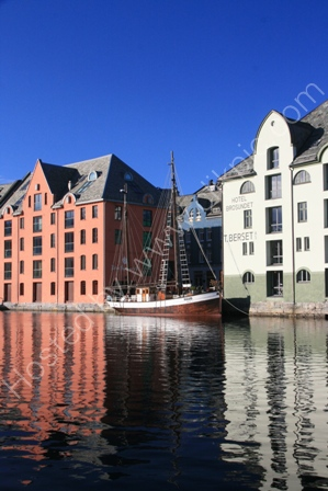 Alesund in the Sun