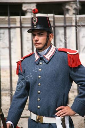 Ceremonial Guard, Perugia, Italy