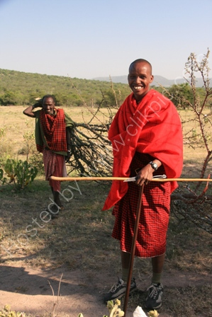 Masai Men, Serengeti