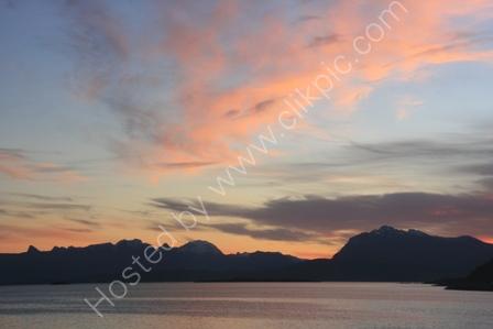 Sunrise in the Vesteralen Islands