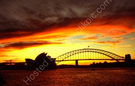 Sydney at Sunset,Australia