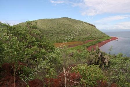 Rabida Island in the Galapagos