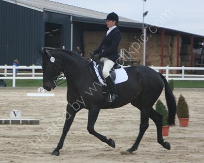 Dressage Rider Winning