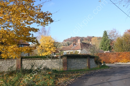 Parsonage Farm in Autumn