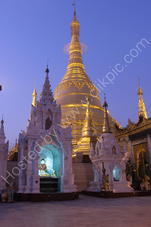 Shwedagon Pagoda at Dawn