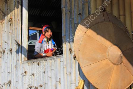 Padaung Woman at Ywama Village