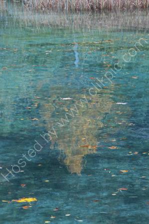 Reflections at Lake Jasna