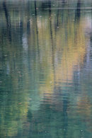 Reflections on the waters of Lake Jasna