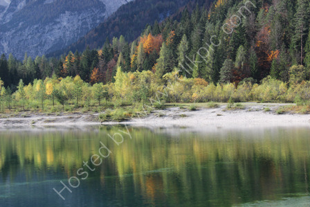 Reflections on Lake Jasna