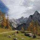 Mountain Scenery near the Vrsic Pass