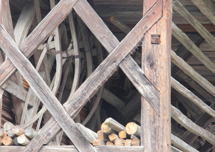 Barn in Village